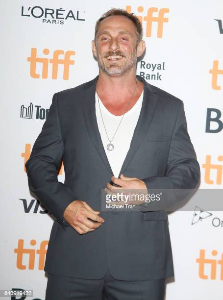 Roland Moller arrives to the premiere of 'Papillon' 2017 TIFF Premieres Photo Calls and Press Conferences held during the 2017 Toronto International...