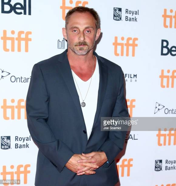 Roland Moller attends the 'Papillon' premiere during the 2017 Toronto International Film Festival at Princess of Wales Theatre on September 7 2017 in...
