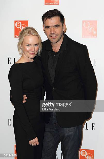 Roland Mouret and Lorraine Candy attend ELLE's 25th Anniversary with a celebration of 'Fashion & Film' at BFI Southbank on September 16, 2010 in...