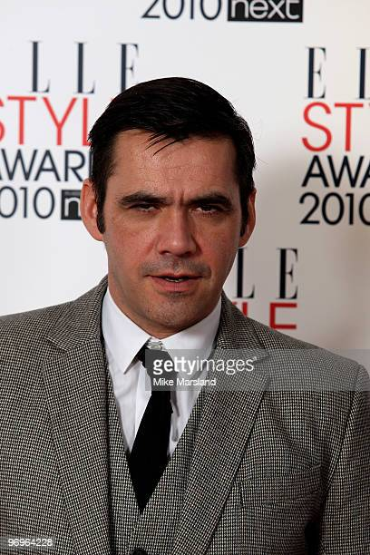 Roland Mouret in the Winner's room at the ELLE Style Awards 2010 at the Grand Connaught Rooms on February 22, 2010 in London, England.