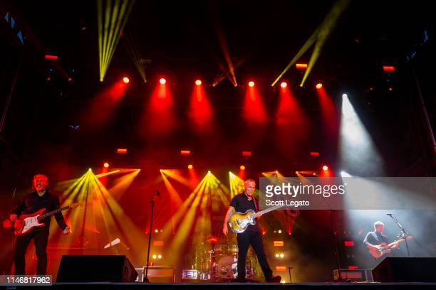 Roland Orzabal and Curt Smith of Tears For Fears perform during day 1 of Shaky Knees Music Festival at Atlanta Central Park on May 03 2019 in Atlanta...