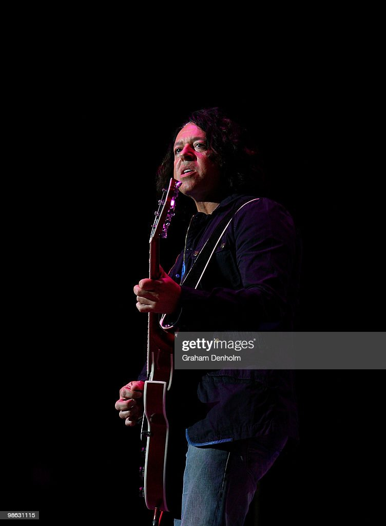 Roland Orzabal of Tears For Fears performs on stage during their concert at the Sydney Entertainment Centre on April 23, 2010 in Sydney, Australia.