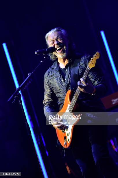Roland Orzabal of Tears For Fears performs on stage on the first day of Rock Zottegem on July 6 in ZottegemBelgium