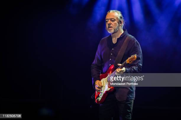 Roland Orzabal of the english new wave and pop rock band Tears For Fears performs live on stage at Mediolanum Forum Milan February 23rd 2019