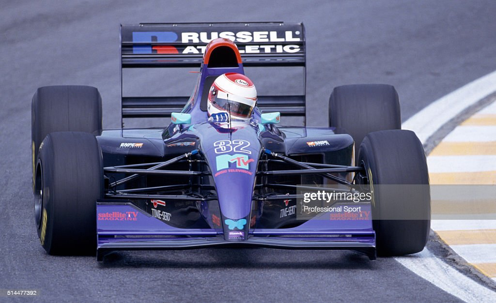 Roland Ratzenberger - Brazilian Grand Prix : News Photo