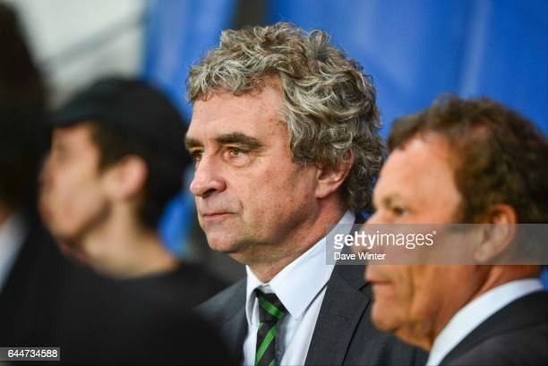 Roland ROMEYER / Dominique ROCHETEAU Paris Saint Germain / Saint Etienne 29eme journee de Ligue 1 Photo Dave Winter / Icon Sport