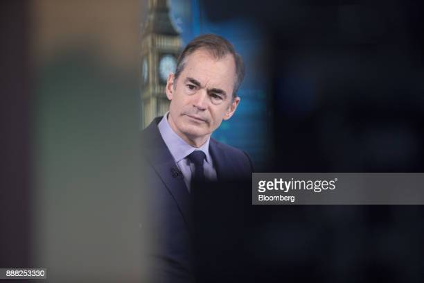 Roland Rudd chairman of RLM Finsbury LLC pauses during a Bloomberg Television interview in London UK on Friday Dec 8 2017 The UK and the European...