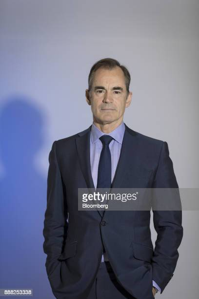 Roland Rudd chairman of RLM Finsbury LLC poses for a photograph following a Bloomberg Television interview in London UK on Friday Dec 8 2017 The UK...