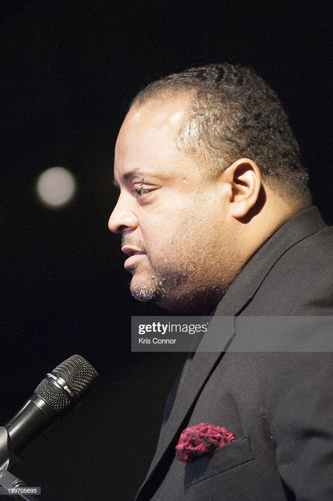 Roland S. Martin speaks during the St. Jude Children's Research Hospital Inaugural Benefit Reception on January 18, 2013 in Washington, United States.