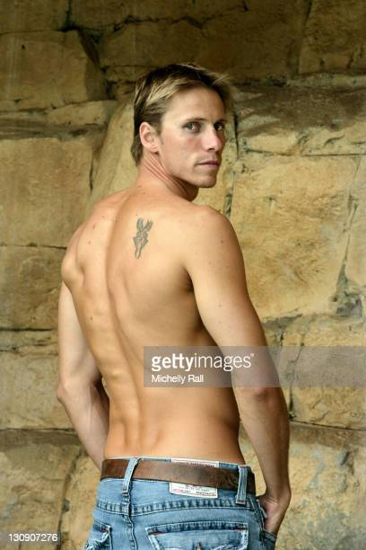Roland Schoeman during Photo Shoot with Olympic Swimming Champion, Roland Schoeman - Novemeber 26, 2006 at Arabella Country Estate in Western Cape,...