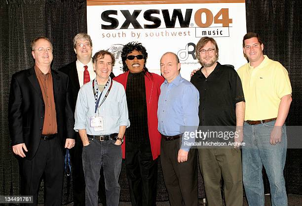 Roland Swenson Andy Flynn Brent Grulke Little Richard Dave Marsh Jeff McCord Mark Mason of BMI
