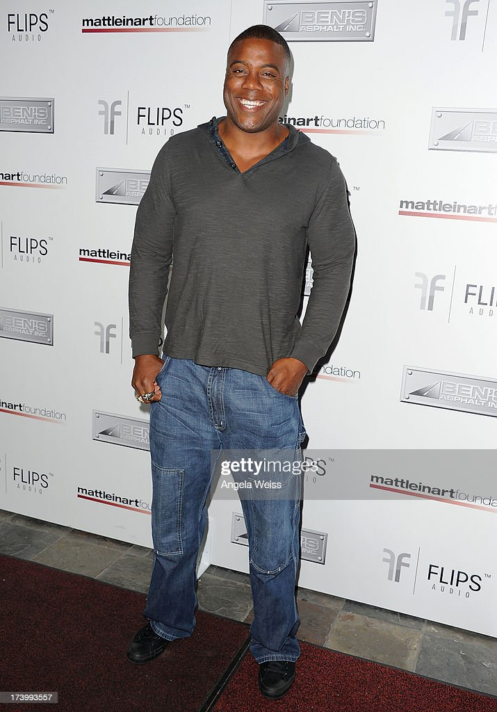 Roland Williams arrives at the Matt Leinart Foundation's 7th Annual 'Celebrity Bowl' at Lucky Strike Bowling Alley on July 18, 2013 in Hollywood, California.