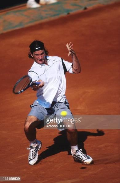 Agassi vs. Moya in Paris, France in June, 1999 - Carlos Moya. Photo  d'actualité - Getty Images