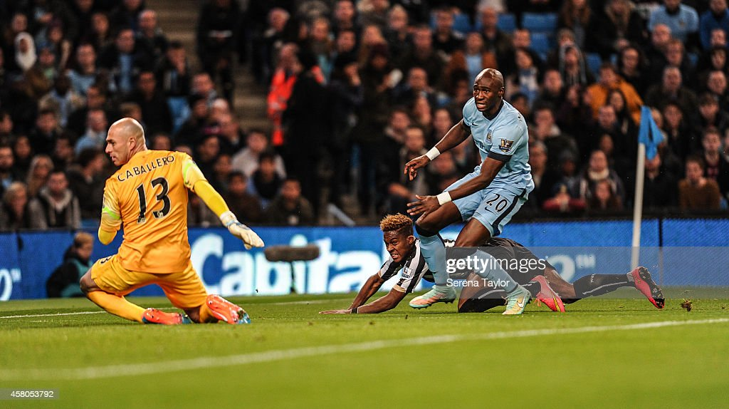Manchester City v Newcastle United - Capital One Cup Fourth Round : News Photo