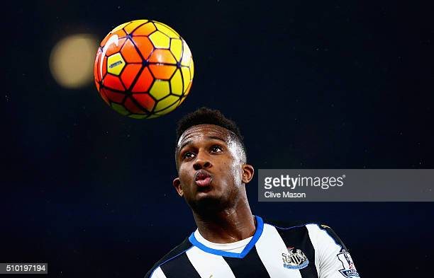 Rolando Aarons of Newcastle United in action during the Barclays Premier League match between Chelsea and Newcastle at Stamford Bridge on February 13...