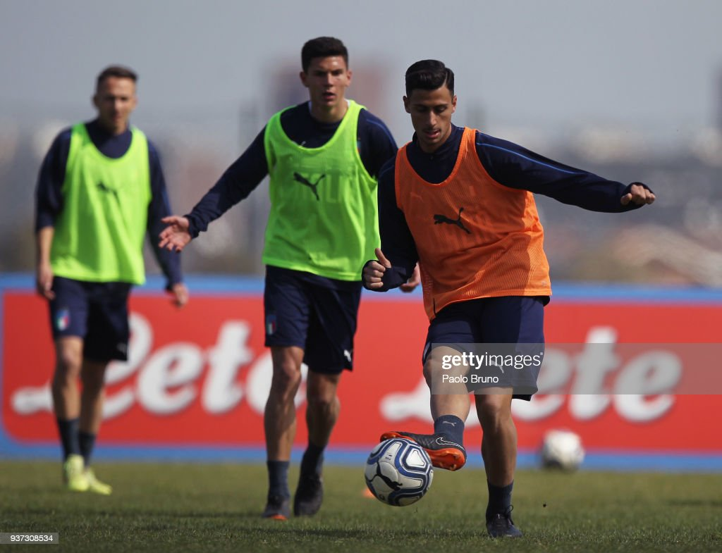 Italy U21 Training Session