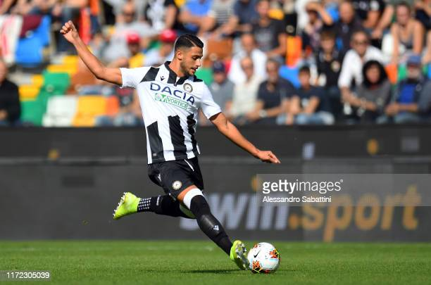 Rolando Mandragora of Udinese Calcio in action during the Serie A match between Udinese Calcio and Bologna FC at Stadio Friuli on September 29 2019...