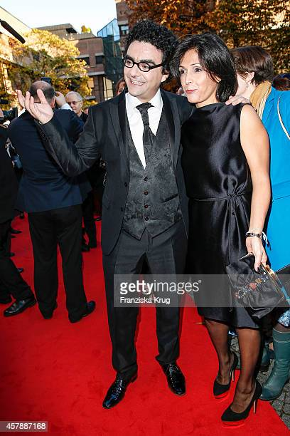 Rolando Villazon and Lucia Villazon attend the ECHO Klassik 2014 on October 26 2014 in Munich Germany