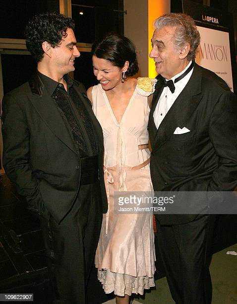 Rolando Villazon Anna Netrebko and Placido Domingo