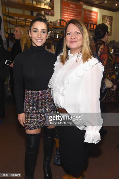 Role Model Aly Raisman and Stacey McCormick attend as Aerie celebrates #AerieREAL Role Models in NYC on January 31 2019 in New York City