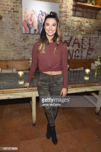 Role Model Brenna Huckaby attends as Aerie celebrates #AerieREAL Role Models in NYC on January 31 2019 in New York City