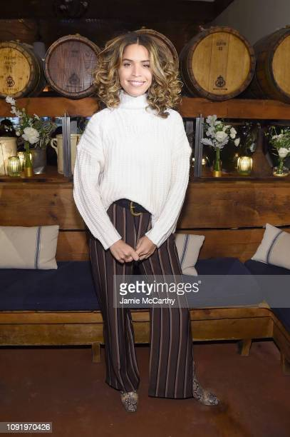 Role Model Cleo Wade as Aerie celebrates #AerieREAL Role Models in NYC on January 31 2019 in New York City
