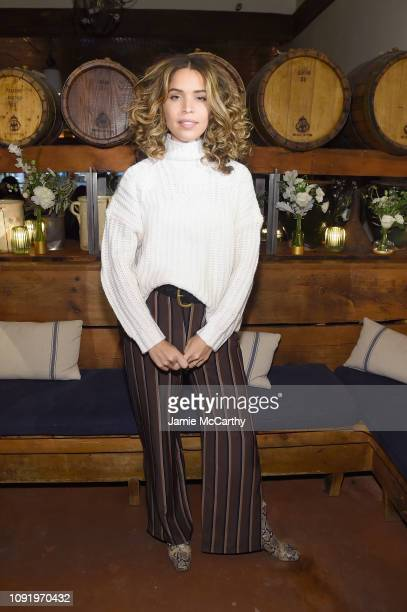 Role Model Cleo Wade attends as Aerie celebrates #AerieREAL Role Models in NYC on January 31 2019 in New York City