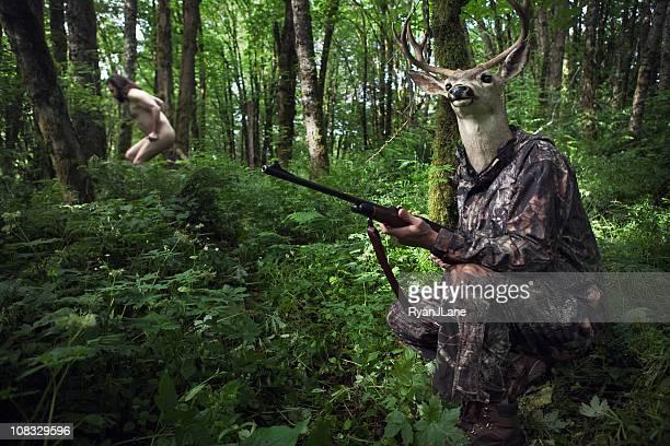 Renversement des rôles Deer Hunter