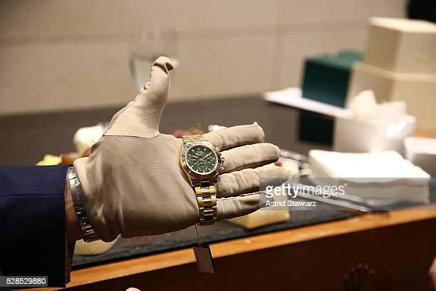 Rolex watch atmosphere during Rolex Exclusive Presentation Baselworld 2016 New Watches on May 05 2016 in New York New York
