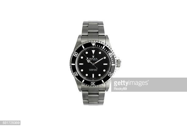 rolex wrist watch - wrist watch stock pictures, royalty-free photos & images