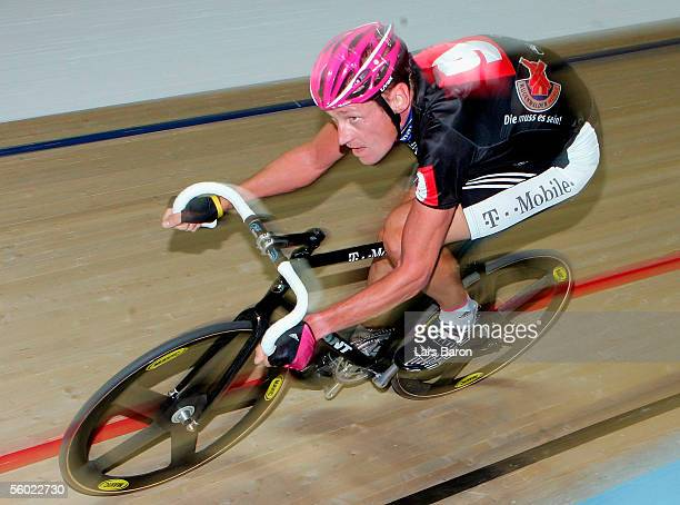 Rolf Aldag of Germany and Team Ruegenwalder cycles during the opening of the 64th Six Days Race at the WestfalenHall on October 27 2005 in Dortmund...