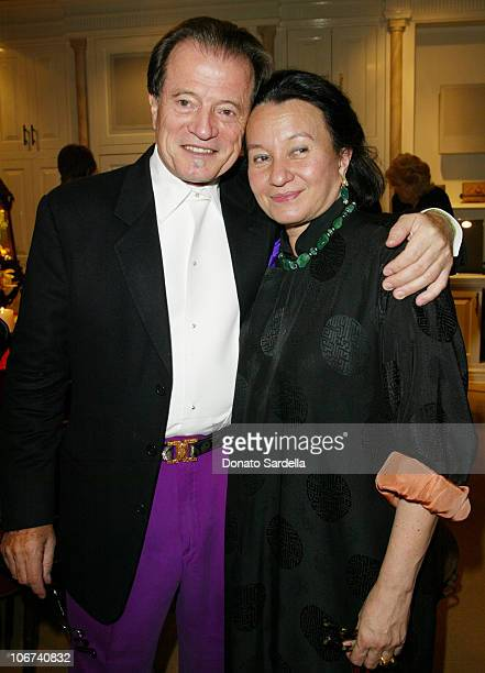 Rolf and Helen Von Bueren during Lotus Arts De VivreFine Jewelry And Object D'art Preview Their Collection In Los Angeles To Benefit Moca at Home Of...