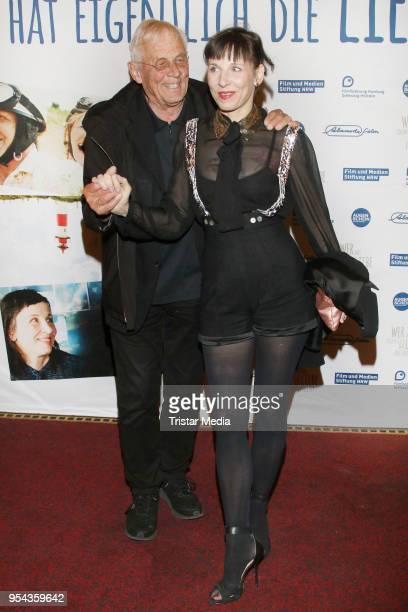 Rolf Becker and Meret Becker during the 'Wer hat eigentlich die Liebe erfunden' premiere on May 3 2018 in Hamburg Germany