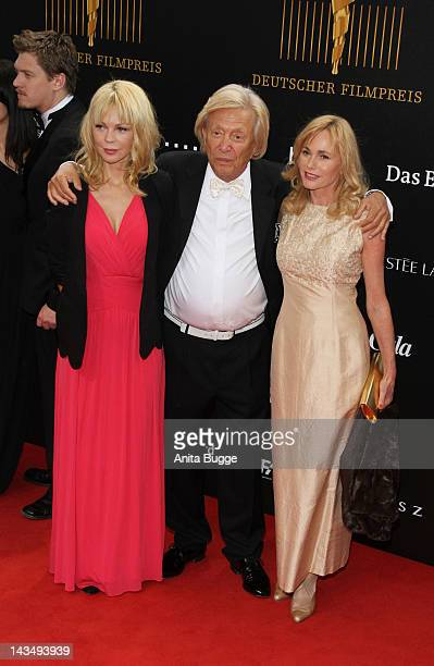 Rolf Eden and guests attend attend the Lola German Film Award 2012 at FriedrichstadtPalast on April 27 2012 in Berlin Germany
