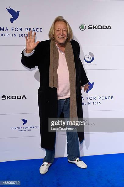 Rolf Eden attends the Cinema For Peace Gala at Konzerthaus Am Gendarmenmarkt on February 9 2015 in Berlin Germany