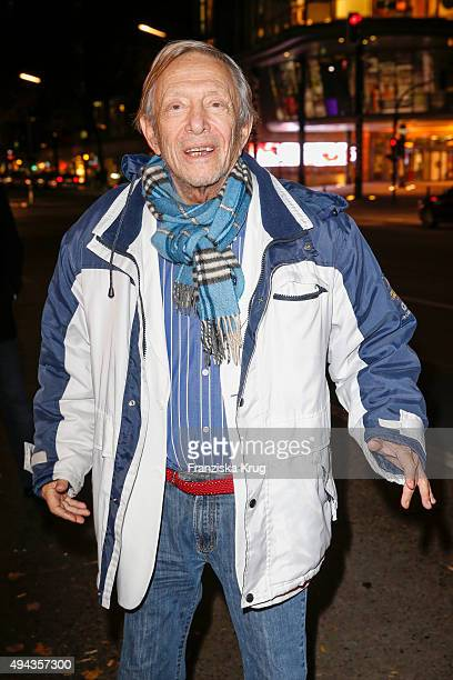 Rolf Eden attends the Facsimile Presentation Of The Book 'CVJ Nicknames of Maitre D's Other Excerpts from Life' in Berlin on October 26 2015 in...