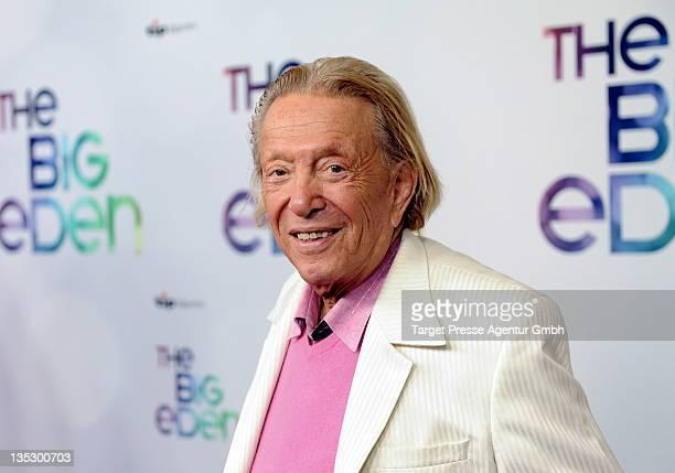 Rolf Eden attends the The Big Eden premiere at Cinema Paris on December 8 2011 in Berlin Germany