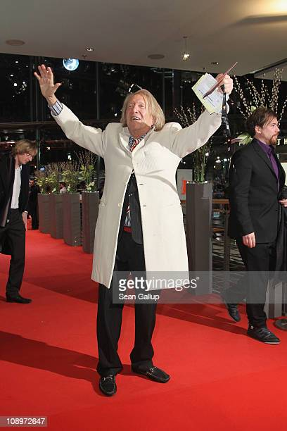 Rolf Eden attends the 'True Grit' Premiere during the opening day of the 61st Berlin International Film Festival at Berlinale Palace on February 10...