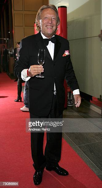 Rolf Eden poses at the BZ Newspaper culture Award January 23 2007 in Berlin Germany