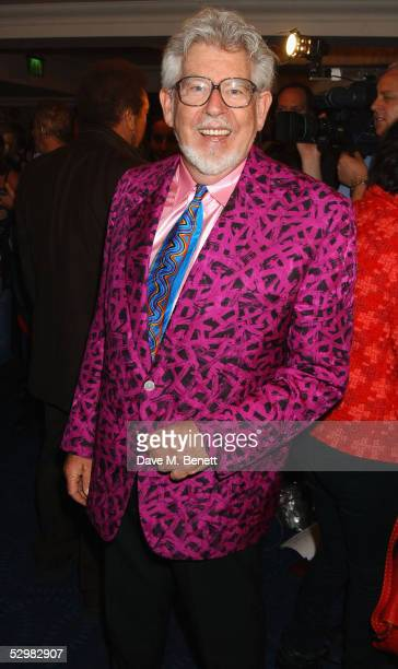 Rolf Harris arrives at the 50th Ivor Novello Awards at Grosvenor House on May 26 2005 in London The music awards honour songwriters composers and...