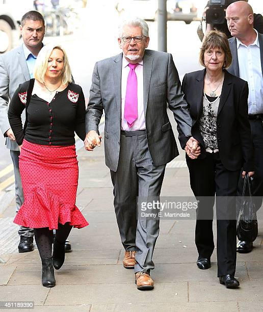 Rolf Harris Artist and daughter Bindi Harris arrives at Southwark Crown Court on June 25 2014 in London England Mr Harris who was arrested in March...