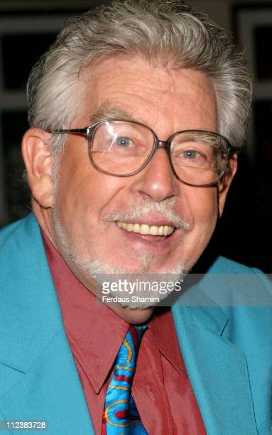 Rolf Harris during Rolf Harris Attends Lang Gallery Launch Party in London at Lang Gallery at The Factory in London Great Britain