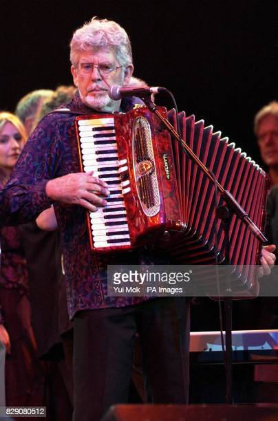 Rolf Harris during the Lonnie Donegan tribute concert at the Royal Albert Hall in central London Some of the biggest names in rock took part in a...