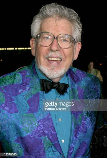 Rolf Harris during Variety Club Show Business Awards 2004 Arrivals at Park Lane Hilton in London Great Britain