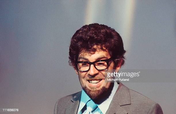 Rolf Harris performs on a TV show London 1969
