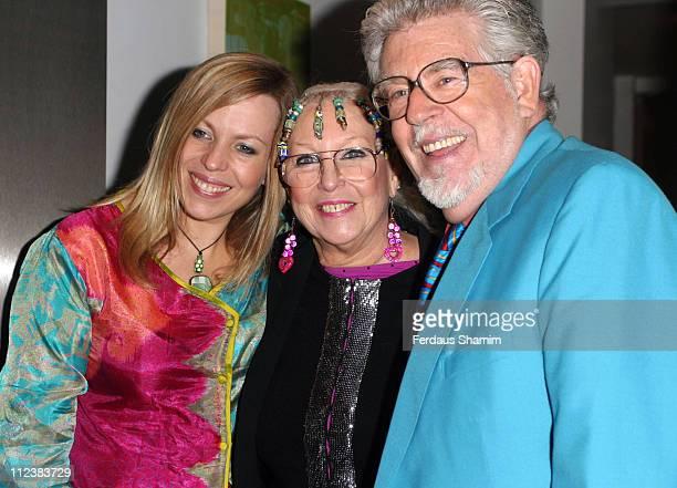 Rolf Harris wife Alwen and daughter Bindi