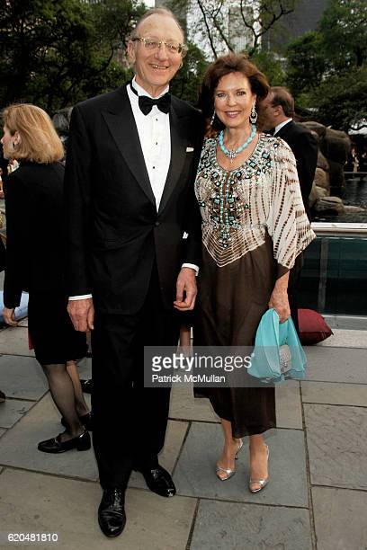 Rolf Heitmeyer and Margo Langenberg attend The Wildlife Conservation Society's SAFARI INDIA Gala at Central Park Zoo on June 3 2008 in New York City