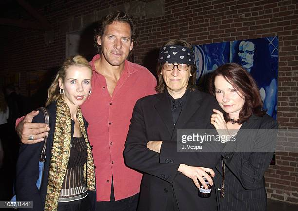 Rolf Moller and wife Annette with Gottfried Helnwein and wife Renate