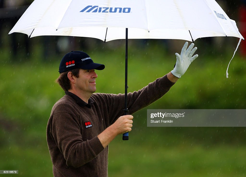 KLM Open - Round Two : News Photo