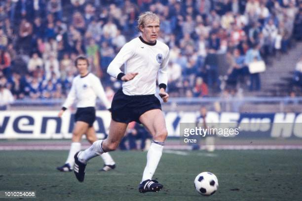 Rolf Ruessmann of Germany FR during the International Friendly match between Germany RF and Italy at Berlin Germany on October 8th 1977